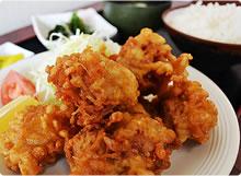 【ドライブイン どさんこ】 鶏の唐揚げ定食
