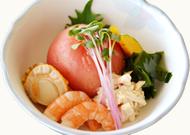 蟹・トマト海鮮サラダ