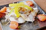 白身魚の素焼きサラダ風
