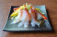 白身魚の海鮮サラダ