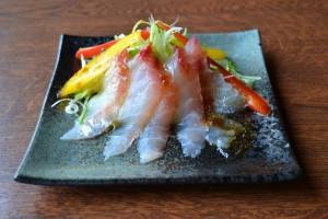 味彩「白身魚の海鮮サラダ」